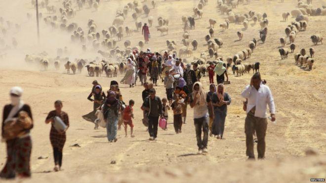 000 yazidis bbc