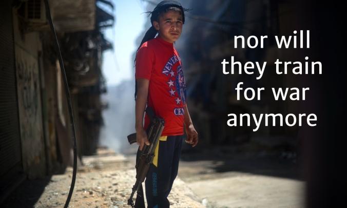 13 Syria 1 train for war