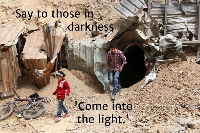 6 Syria 5 into the light