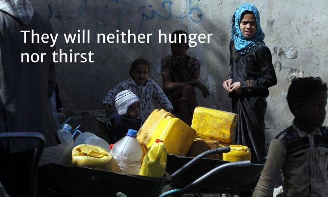 9 Yemen 2 hunger nor thirst